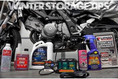 Prep your Ride for Winter Storage
