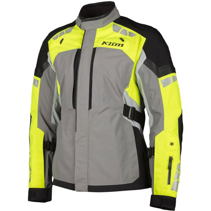 New UNDER ARMOUR Mens Med High Visibility Yellow /& Gray Light Jacket NWT