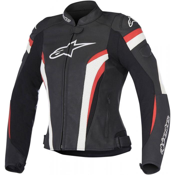 Black//Red 48 Alpinestars Mens GP Plus R V2 Leather Motorcycle Jacket