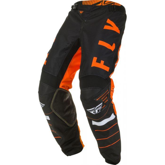 Fly Racing Mens Orange//Black//White Kinetic K120 Dirt Bike Pants MX ATV 2020