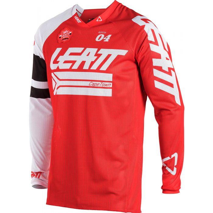 Leatt Brace GPX 4.5 X-Flow Jersey-Red-XL