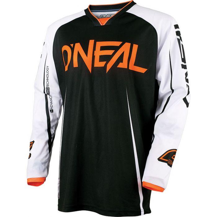 O/'Neal Mayhem Lite Jersey Blocker Black Orange Shirt MTB Mountain Bike Bicycle