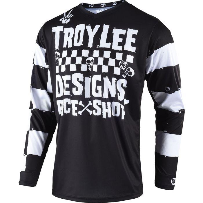 Troy Lee Designs 2018 GP Jersey Mono Black Size M
