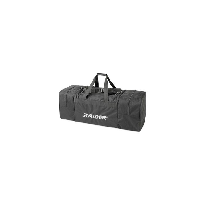 Raider ATV Rear Deluxe Rack Storage Gear Bag 600-Denier Polyester Black