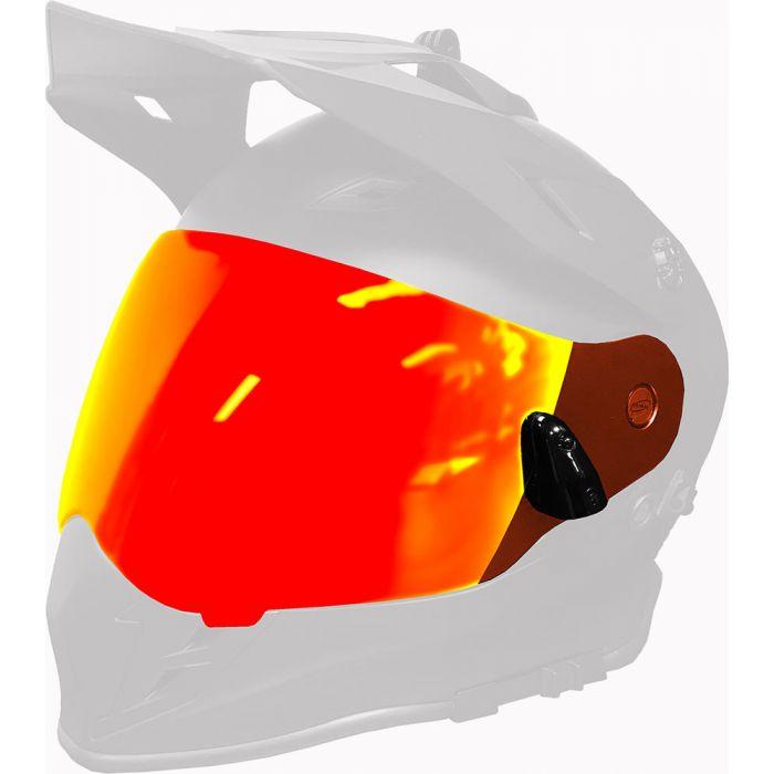 509 Delta R3 Heated Dual Shield 2.0 Fire Mirror//Rose Tint