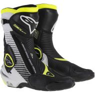 Alpinestars SMX Plus Vented  Boot Black/White/Yellow