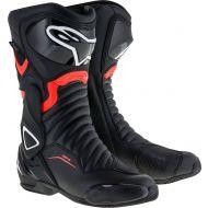Alpinestars SMX-6 V2 Drystar Boots Black/Red