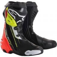 Alpinestars Supertech R Boots Black/Red/Yellow Fluo