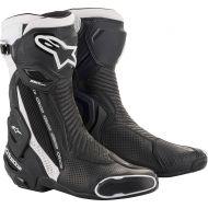 Alpinestars SMX-Plus V2 Vented Boots Black/White