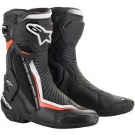 Alpinestars SMX-Plus V2 Boots Black/White/Fluorescent Red
