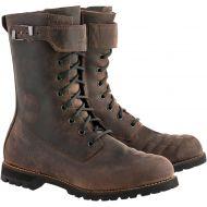 Alpinestars Firm Drystar Boots Dark Brown Oiled