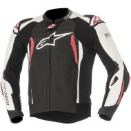 Alpinestars GP Tech Leather Jacket Black/White/Red