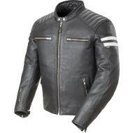 Joe Rocket Classic 92 Leather Jacket Black/White