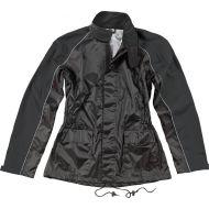 Joe Rocket RS-2 Womens Rainsuit Black/Black