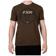 FXR Antler T-Shirt Brown/Black