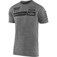 Troy Lee Designs KTM Team 2020 T-Shirt Vintage Gray Snow