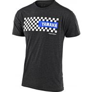 Troy Lee Designs Yamaha Checkers T-shirt Charcoal Heather