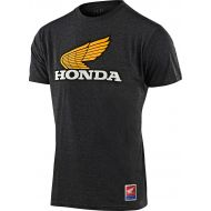 Troy Lee Designs Honda Retro Wing T-shirt Charcoal Heather