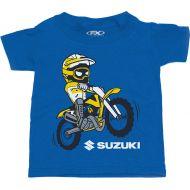 Factory Effex Suzuki Dirt Bike Toddler T-Shirt Royal