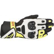 Alpinestars SP Air Gloves Black/White/Yellow