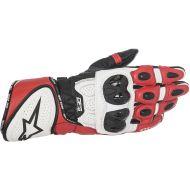 Alpinestars GP Plus R Leather Gloves Black/White/Red