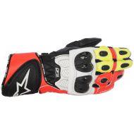 Alpinestars GP Plus R V2 Gloves Black/Fluo Yellow/Fluo Red