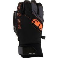 509 Freeride Snowmobile Gloves Dark Ops with Orange