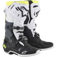 Alpinestars 2019 Tech 10 Boots Black/White/Yellow