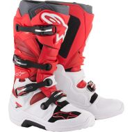 Alpinestars Tech 7 Boots White/Red/Burgundy