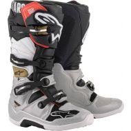 Alpinestars 2020 Tech 7 Boots Black/Silver/White/Gold