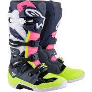 Alpinestars Tech 7 Boots Gray/Black/Pink