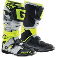 Gaerne SG12 Boots Black/White/Grey/Neon Yellow