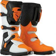 Thor Blitz Boots White/Orange