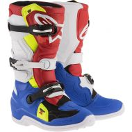 Alpinestars Tech 7S Youth Boots Black/White/Red/Yellow