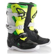 Alpinestars Tech T7S LE Prodigy Youth Boots Black/Yellow/Green