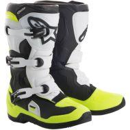 Alpinestars 2018 Tech 3S Kids Boots Black/White/Yellow Fluo