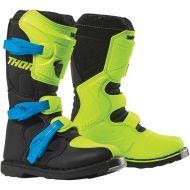 Thor Blitz XP Youth Boots Flo Acid/Black