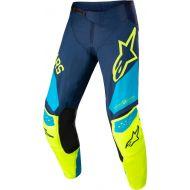 Alpinestars 2022 Techstar Factory Pants Dark Blue/Fluo Yellow/Neo Blue