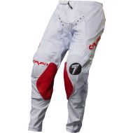 Seven 17.1 Zero Blade Pants White/Red