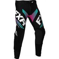 FXR 2020 Helium LE MX Pant Black/Mint/Coral Fade