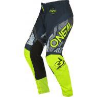 O'Neal 2022 Element Camo Pants Grey/Neon Yellow