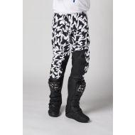 Shift MX Blue Label Flame Pant White/Black