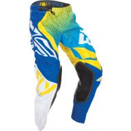 Fly Racing 2017 Evo Pants Blue/Yellow/White