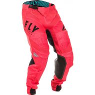 Fly Racing 2020 Lite Glitch Pant Coral/Black/Blue