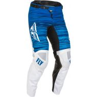 Fly Racing 2022 Kinetic Wave Pants White/Blue