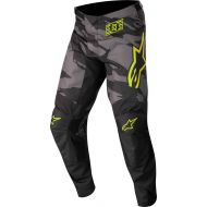 Alpinestars 2022 Racer Tactical Youth Pants Black/Gray Camo/Fluo Yellow