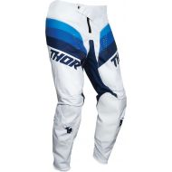 Thor 2021 Pulse Racer Youth Pants White/Navy