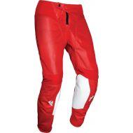 Thor 2021 Pulse Air Raid Youth Pants White/Red