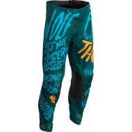 Thor 2022 Pulse Counting Sheep Youth Pants Teal/Tangerine