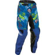 Fly Racing 2022 Kinetic Rebel Youth Pants Black/Blue